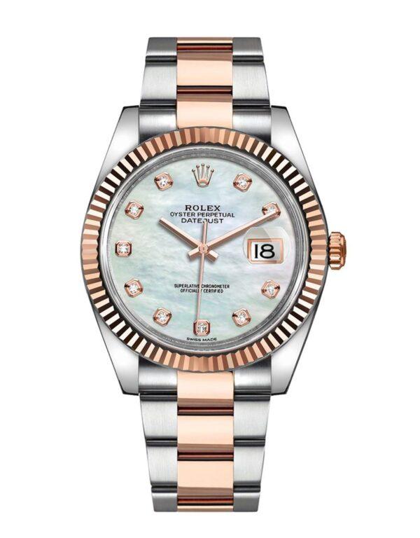 Rolex Datejust 126331 Cadran Blanc Nacre Automatique Pour Homme 41mm