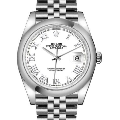 Rolex Datejust 126200 Cadran Blanc Automatique Pour Hommes 36mm