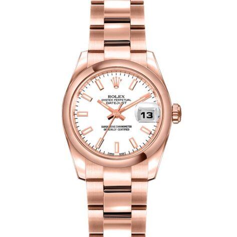 Rolex Datejust 179165 Cadran Blanc Automatique Pour Les Femmes 26mm