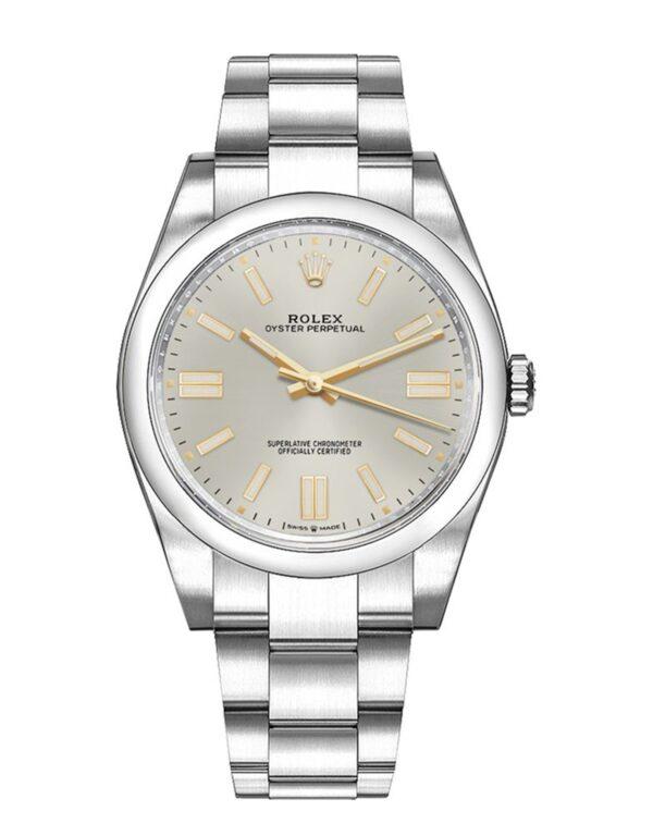 Rolex Datejust 124300 Cadran Argent Automatique Pour Hommes 41mm