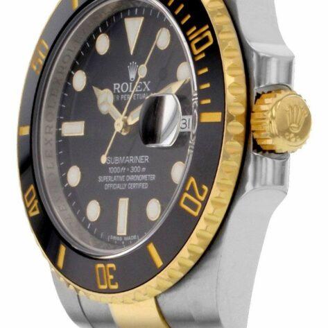 Rolex Submariner 116613LN Cadran Noir Automatique Pour Hommes 40mm